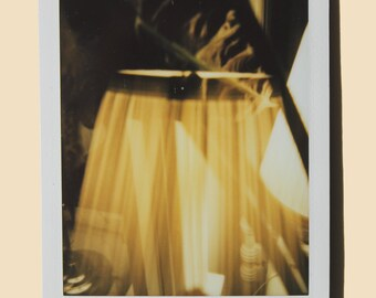 Lamp Abstract - Instant Film Fine Art Photo
