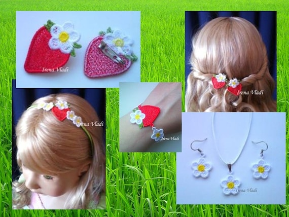 Set Fsl Strawberry And The Flower Free Standing Lace Machine
