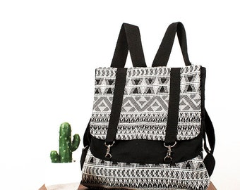 Kika/Urban Backpack/commode/handmade/light/practical/adjustable straps