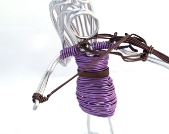 Violin Player #WIREPEOPLE