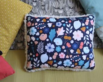 Cushion fabric music / rocking chair / blue vegetation / softness cushion / decorative pillow