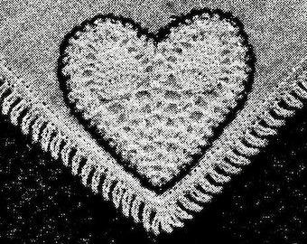 Heart Motif Crochet Pattern - 723148