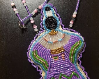 Beaded Dancer Necklace