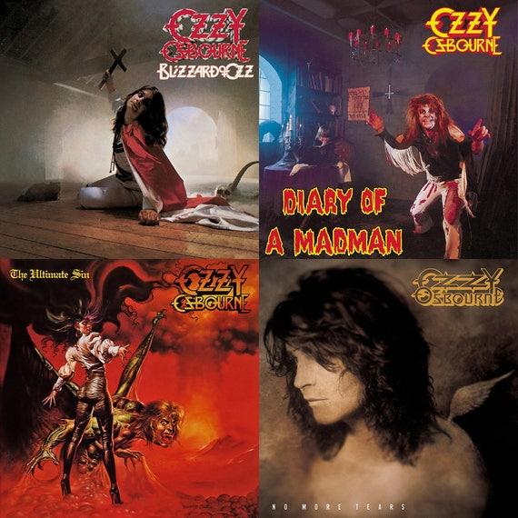Ozzy Osbourne Album Cover...