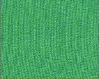 Fat Quarter - Heather Ross Kinder Coordinate - Artisan Cotton - Green/Blue - Another Point of View for Windham - 40171-0
