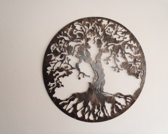Tree Of Life, Antique Look, Wall decor, Metal Art