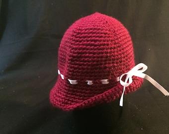 Baby Girl's Cloche Winter Hat