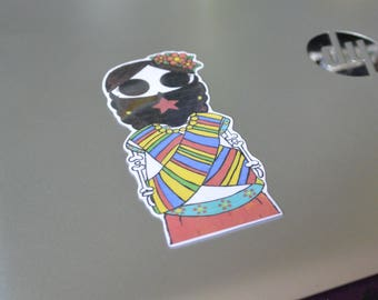 Guerillera Sticker