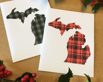Michigan christmas card mitten christmas card michigan michigan christmas card made in michigan michigan greeting card michigan holiday michigan m4hsunfo Images