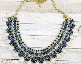 necklace beading kit for the polychrome necklace