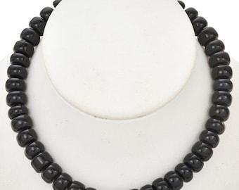 10mm Blue Tiger Eye Rondel Beads 16 inch Long Strand  - Gemstone Beads - Jewelry Supplies
