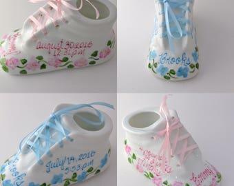 Porcelain Baby Shoe