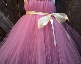Rose Ivory Tutu Dress
