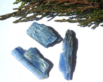 Blue kyanite Natural kyanite stone Kyanite crystal Raw kyanite 12.9 g Mineral specimens Healing Crystals and Stones
