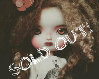 SOLD OUT! ~Please don't buy!~ LO56 custom bbgirl doll, big eyes doll, on Licca body