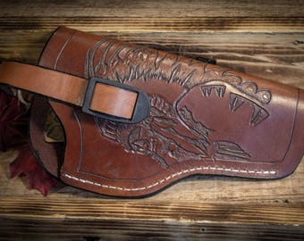 Leather Chief Gun Holster 5 1/2in.
