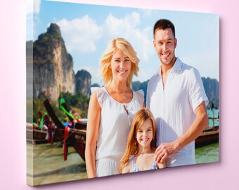 All Sizes Photo To Canvas Custom Photo / Image Canvas Gallery Wrap Print