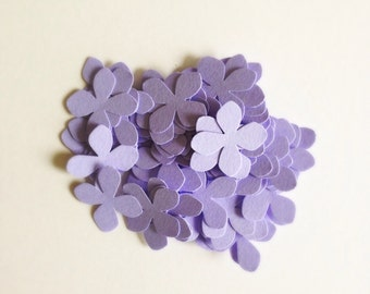 ANY COLOR Hydrangea Flower Confetti Punches