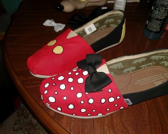 Painted Toms Shoes