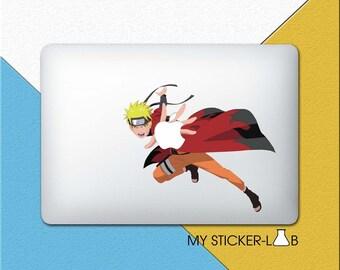 Naruto MacBook Decal Naruto MacBook Sticker Naruto Decal Naruto Sticker Anime Stickers Naruto Anime Decal Naruto Shippuden Uzumaki bn421