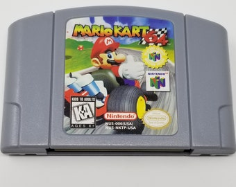 Mario Kart 64 fan made reproduction N64 Nintendo 64