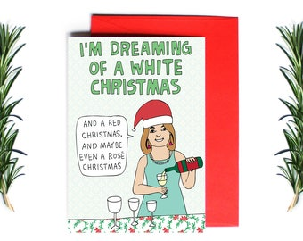 Christmas Cards - I'm Dreaming Of A White Christmas | Greeting Card | Holiday Card