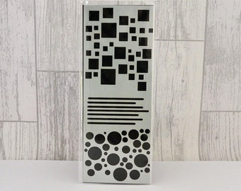 Square and Circles (80x210mm) Stencil/Mask by Imagine Design Create