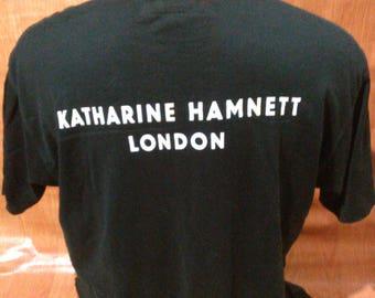 Vintage Katharine Hamnett Tshirts