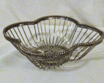 Silver Wire Basket
