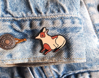 Puppy Enamel Pin - Dog pin - Enamel pin - Enamel dog pin - I like cats - Dog lapel pin - Dog jewellery - Dog gifts - Dogs - hard enamel