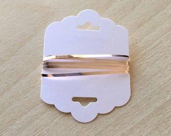Blade color metallic gold 2 mm