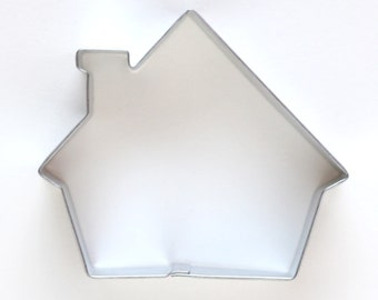 Cottage Cookie Cutter, House Cookie Cutter, Gingerbread House Cookie Cutter, Metal Cookie Cutter