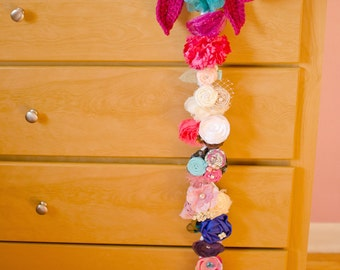 Crochet Pattern - I Love BIG Bows - Bow Holder