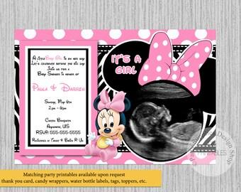 Minnie Baby Shower | Etsy