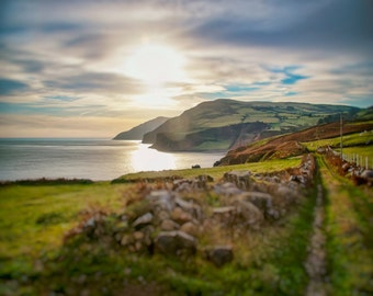 Ireland Photography, Irish Sunset, The Emerald Isle, Irish Green, Ireland Photo, Beautiful Irish Coastline