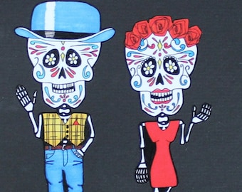 Day of the Dead Couple #147/#148