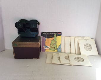 Vintage View-Master and slides (new york)