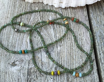 Easy Rustic Long Necklace