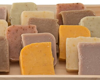 75 Handmade Organic Soap Favors for Weddings - Party Favors - Bridal Shower Favors - Natural Soaps - Vegan Soaps