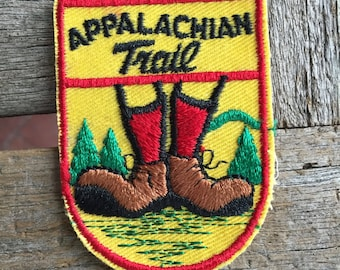 Appalachian Trail Vintage Souvenir Travel Patch from Voyager