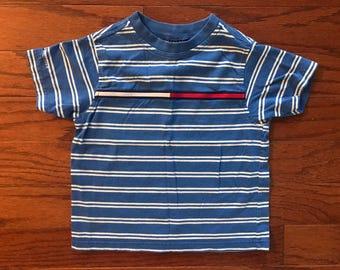 Vintage 90's Tommy Hilfiger kids striped t-shirt