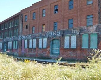 Abandoned Factory Fine Art Print