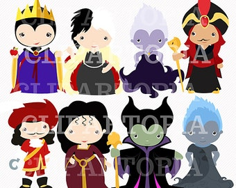 Fairytale Villains For Personal and Commercial Use / INSTANT DOWNLOAD