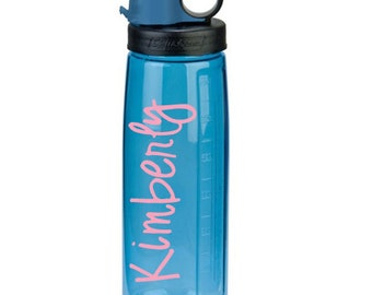 Water bottle decal: personalized decal for your water bottle // water bottle label // gift for teacher // mom gift // affordable gift