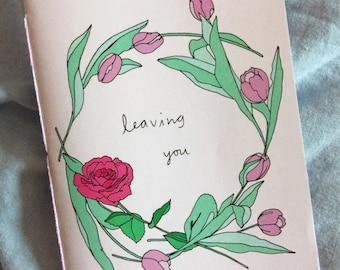 Leaving you - zine - Lovestruck prints - fanzine
