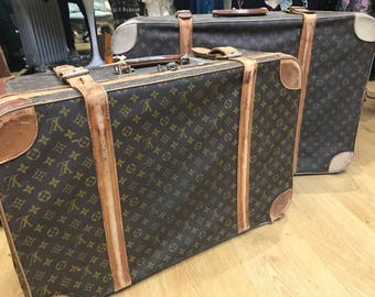 Original 20s Louis Vuitton suitcases