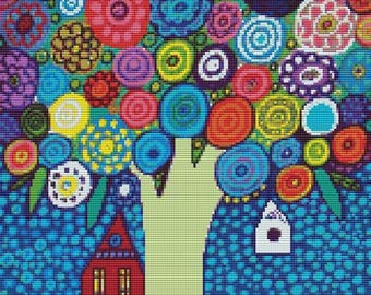 Floral Cross Stitch Kits