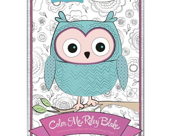 SALE!! Coloring Book by Riley Blake Designers