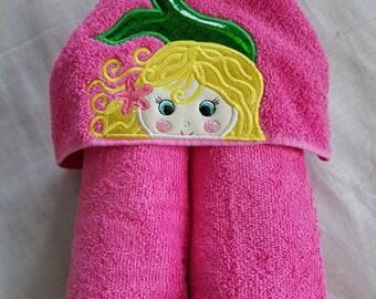 Kids Hooded Towel.Mermaid Kids Hooded Towel,Childs Hooded Towel,Personalized Hooded Towel,Hooded Bath Towel,Kids Gift,Mermaid Kids Towel