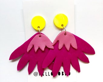SALE - Polymer clay earrings